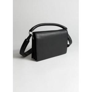 Leather Fold Over Crossbody Bag