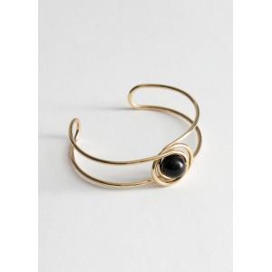 Sphere Wire Cuff Bracelet