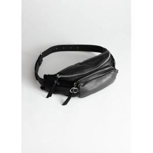 Grainy Leather Beltbag