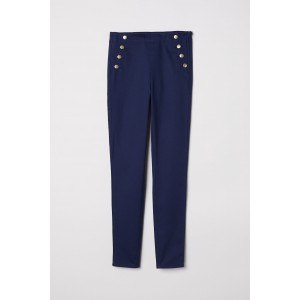 Treggings with Buttons