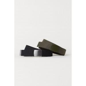 2-pack Fabric Belts