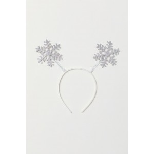 Hairband with Snowflakes