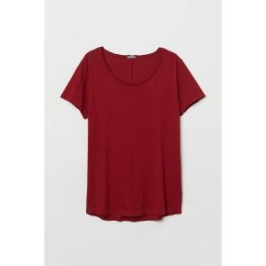 Raw-edge T-shirt