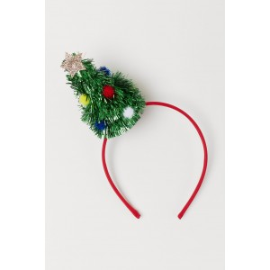 Hairband with Christmas Tree