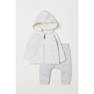 Hooded Jacket and Pants