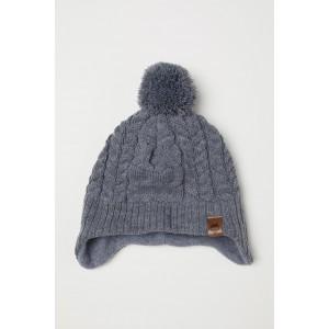 Fleece-lined Hat with Earflaps