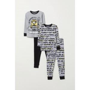 2-pack Jersey Pajamas