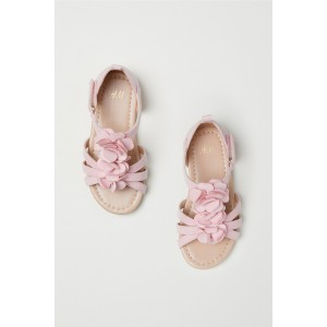Sandals with Appliques
