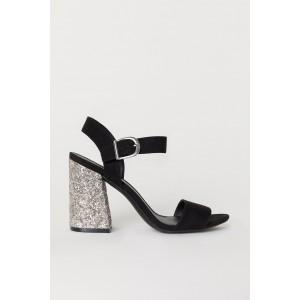 Block-heeled Sandals