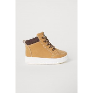 Pile-lined High Tops