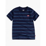 Little Boys Striped Indigo Tee Shirt