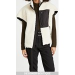 Sherpa Bonded Cocoon-Back Vest