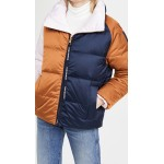 Reversible Colorblock Puffer Jacket