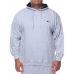 l/s pullover fleece hoodie (b&t)