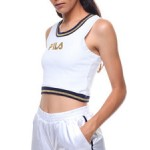 bonta stretch rib crop tank