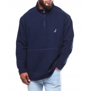 1/4 zip sweater (b&t)
