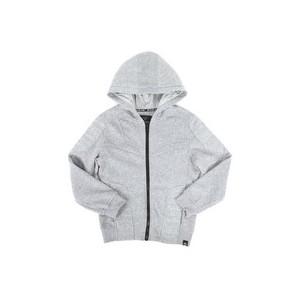 quilted fleece full zip hoodie (8-20)