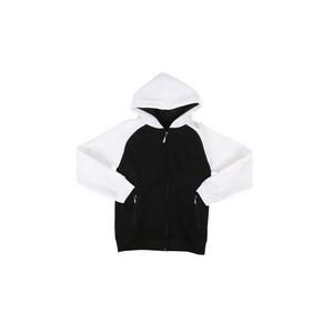 fleece raglan hoodie (8-20)
