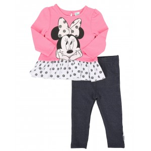 2 piece french terry tunic legging sets (infant)