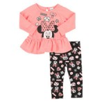 2 piece french terry tunic & legging set (infant)