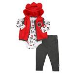 3 piece microfleece vest set (infant)