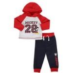 2 piece fleece jogger set (infant)
