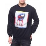 cherry drip crewneck sweatshirt