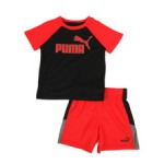 performance tee & shorts set (2t-4t)