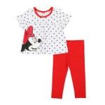 2 pc minnie top & leggings set (0-24mo)