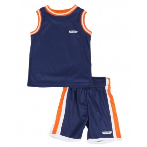 2pc muscle top & shorts set (2t-4t)