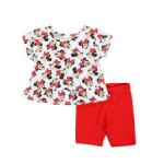 minnie top & shorts set (0-24mo)