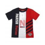 color block cut & sew jersey tee (4-7)