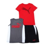 s/s tee, muscle tee + short set (8-20)