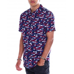 stars and stripes ss woven shirt