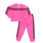 linear tricot jacket set (2t-4t)