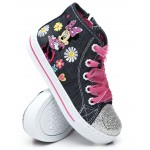 minnie mouse high top sneakers (5-11)