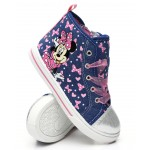 minnie mouse high top sneakers (7-12)