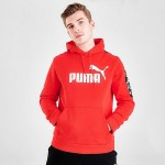 Mens Puma Amplified Fleece Hoodie