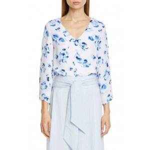 Orie Floral Bell Sleeve Top
