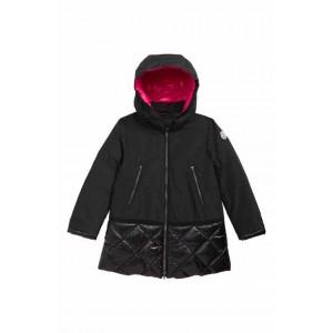 Sibylle Down Trim Hooded Coat
