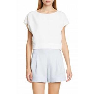 Anachika Short Sleeve Boxy Top