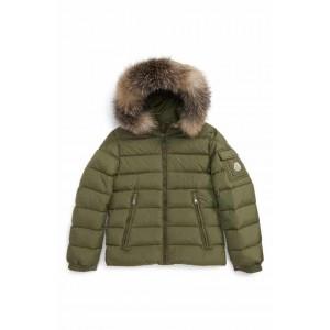 Byron Water Resistant Down Jacket with Genuine Fox Fur Trim
