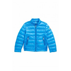 Acorus Channel Quilted Down Moto Jacket