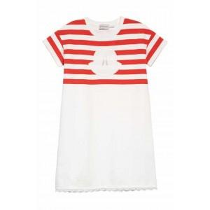 Stripe Logo Dress