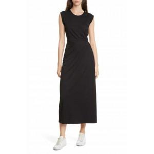 Pleat Detail Knit Dress