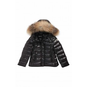 Armoise Hooded Down Jacket with Genuine Fox Fur Trim