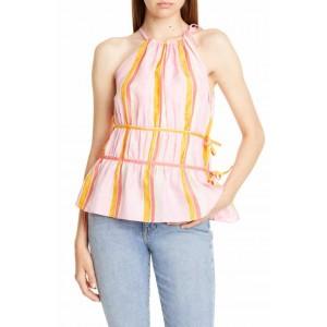Priyah Sleeveless Silk Top