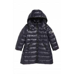 Moka Long Hooded Water Resistant Down Jacket
