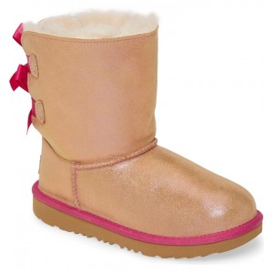 Bailey Bow Genuine Shearling Shimmer Boot