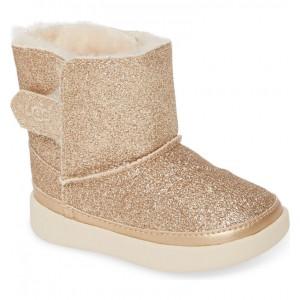 Keelan Glitter Genuine Shearling Boot